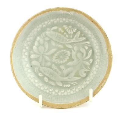 Lot 3-A Chinese qingbai saucer