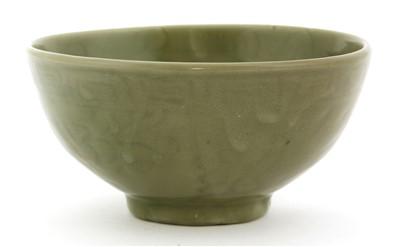 Lot 6-A Chinese celadon bowl
