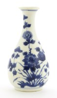 Lot 20-A Chinese blue and white vase