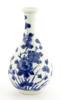 Lot 21-A Chinese blue and white vase