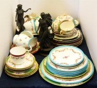 Lot 644-A selection of Minton tea wares