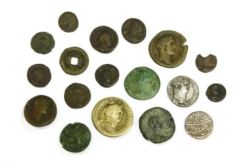 Lot 14-Ancient coins