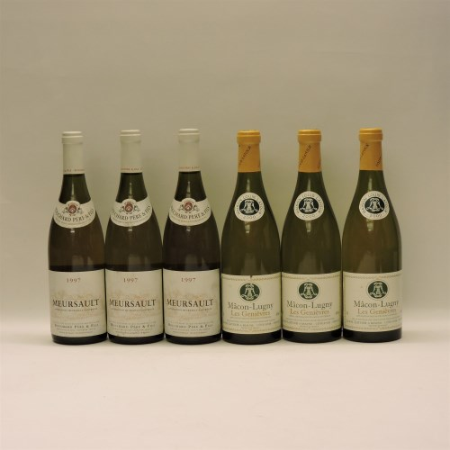 Lot 17-Assorted White Wines to include: Meursault