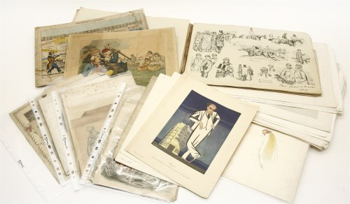 Lot 622-A large collection of etchings
