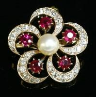 Lot 87 - A Victorian cultured pearl