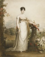 Lot 708-James Green (1771-1834) PORTRAIT OF A LADY