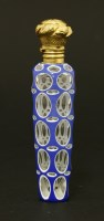 Lot 98 - A Bohemian glass scent bottle
