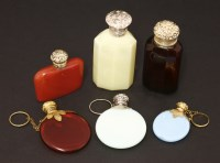Lot 100 - Six scent bottles