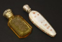 Lot 92 - Two scent bottles