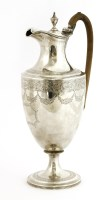 Lot 151 - A George III silver ewer