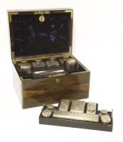 Lot 191 - A Victorian coromandel toilet box