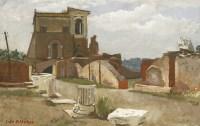 Lot 1003-*John Aldridge RA (1905-1983)  'PALATINE'   Signed and dated 'Palatine 5 Sept 1952' l.l.