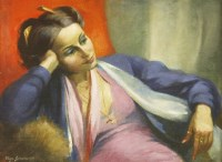 Lot 1007-*Olga Lehmann (1912-2001) ISRAELI GIRL  Signed l.l.