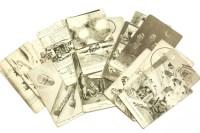 Lot 42-26 Bruce Bairnsfather postcards 'Fragments of France'
