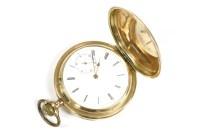 Lot 47-A German gold Hunter pocket watch
