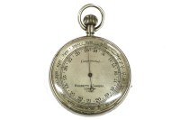 Lot 2-A Negretti and Zambra pocket barometer