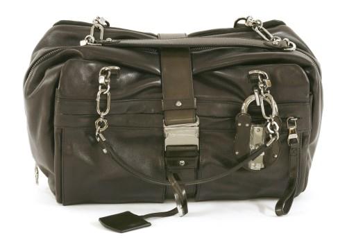Lot 1006-A Loewe 'Lola Grand' black leather handbag