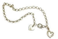 Lot 50 - A Links of London sterling silver oval link chain necklace