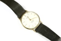 Lot 34 - A 9ct gold gentlemen's Rotary Automatic strap watch