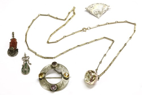 Lot 48-A collection of costume jewellery