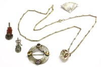 Lot 48 - A collection of costume jewellery