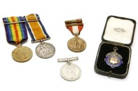Lot 63 - A First World War British War Medal and Victory Medal