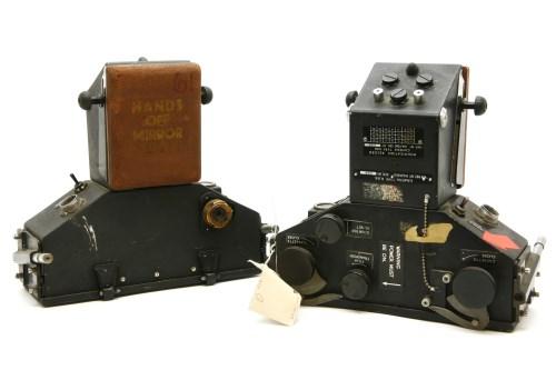 188 - Two Vulcan bomber R88 radar operator's cameras