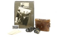 Lot 75 - Captain W.S.D. Craven RHA - his binoculars