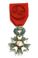 Lot 84A - A 'Legion d'honneur' Francaise Republique medal