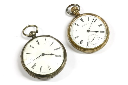 Lot 37-Two pocket watches