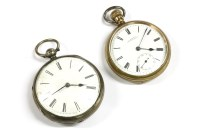 Lot 37 - Two pocket watches