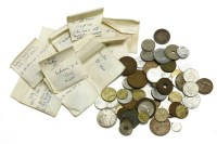 Lot 68 - A collection of British and World coins