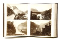 Lot 81 - An album of photographs of Norway