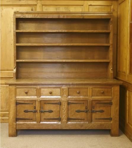 Lot 202-A Robert 'Mouseman' Thompson oak dresser