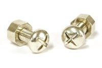 Lot 28-A pair of Tiffany & Co. sterling silver nut and bolt cufflinks