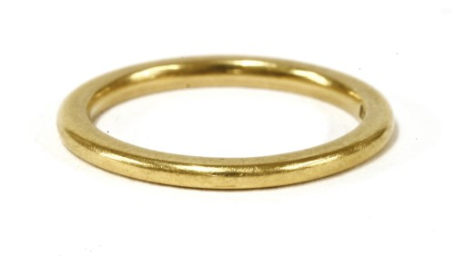 Lot 15-A 9ct gold eternity ring