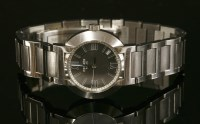 Lot 15-A ladies' stainless steel Hermès Nomade Quartz bracelet watch