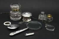 Lot 98 - An Edwardian silver baby's rattle