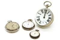 Lot 88 - A brass cased 'Bull's eye' form desk clock