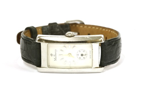 Lot 38 - A ladies Mulberry 'The Galbe' wristwatch