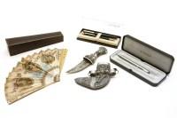 Lot 78 - A white metal mounted Omani knife