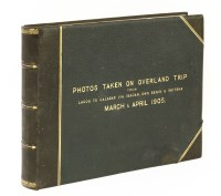117 - PHOTOGRAPH ALBUM (Possibly by Sir Walter Egerton): Photos Taken on overland trip from Lagos to Calabar via Ibadan