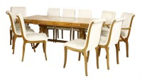 Lot 272-A maple dining table