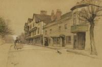 Lot 742-Cecil Aldin (1870-1935) 'MAYPOLE INN