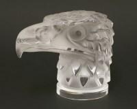 Lot 269-A Lalique 'Tête d'Aigle' eagle head car mascot