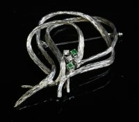 Lot 3-An 18ct white gold