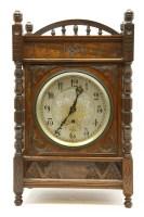 Lot 4-An Aesthetic walnut bracket clock