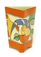 Lot 254-A Clarice Cliff vase