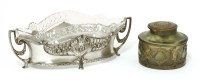 Lot 16-A WMF silver-plated planter