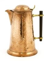 Lot 56-A copper jug